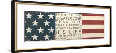 No Greater Love-Melissa Lyons-Framed Art Print