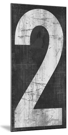 Retro Numbers - Two-Tom Frazier-Mounted Giclee Print
