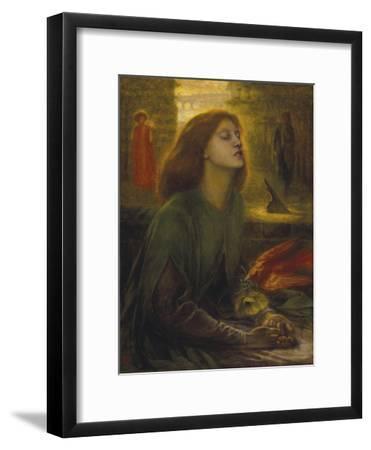 Beata Beatrix-Dante Gabriel Rossetti-Framed Giclee Print
