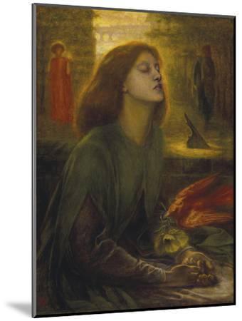 Beata Beatrix-Dante Gabriel Rossetti-Mounted Giclee Print