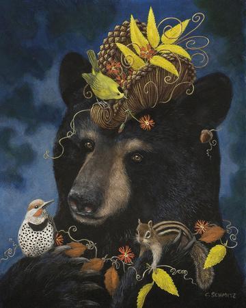 Barbeara's Elegant Hat-Carolyn Schmitz-Framed Giclee Print