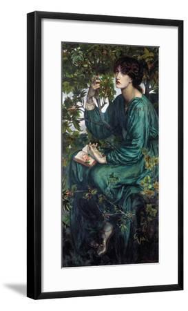 The Day Dream, 1880-Dante Gabriel Rossetti-Framed Giclee Print