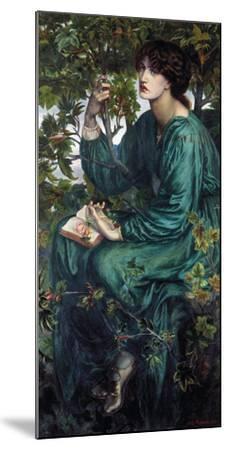 The Day Dream, 1880-Dante Gabriel Rossetti-Mounted Giclee Print