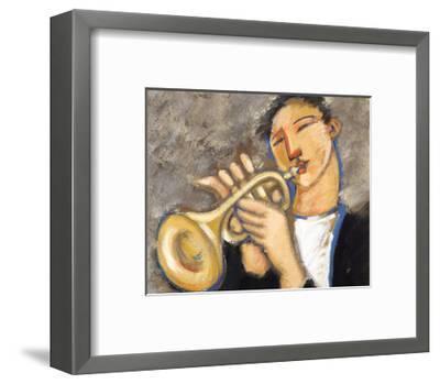 Trumpet-Marsha Hammel-Framed Art Print