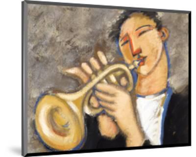 Trumpet-Marsha Hammel-Mounted Art Print