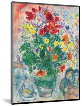 Grand Bouquet de Renoncules, 1968-Marc Chagall-Mounted Art Print