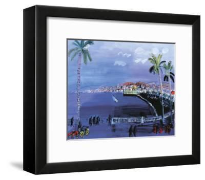 Baie Des Anges, Nice c.1926-Raoul Dufy-Framed Art Print