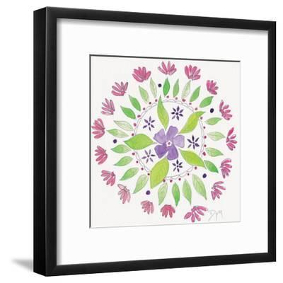 Nature Mandala I-Beverly Dyer-Framed Art Print