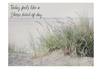 Shore Feelings 2-Elizabeth Urquhart-Framed Art Print