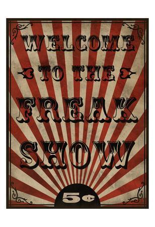 Freak Show-Marcus Prime-Framed Art Print
