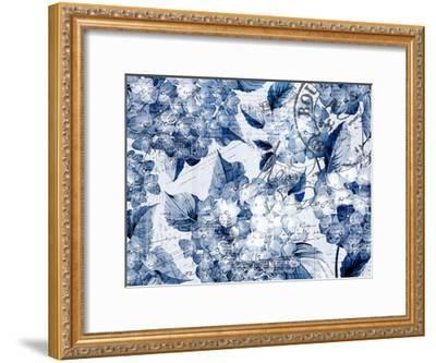 Postcard Hydrangea 2-Kimberly Allen-Framed Art Print