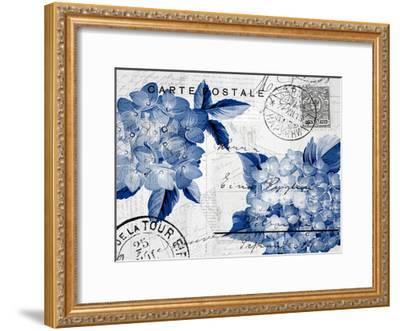 Postcard Hydrangea 4-Kimberly Allen-Framed Art Print