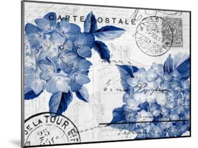 Postcard Hydrangea 4-Kimberly Allen-Mounted Art Print