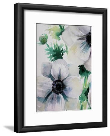 Ghost Blooms 2-Boho Hue Studio-Framed Art Print