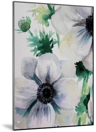 Ghost Blooms 2-Boho Hue Studio-Mounted Art Print
