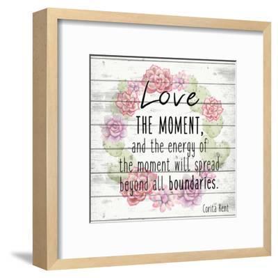 Love the Moment 2-Kimberly Allen-Framed Art Print