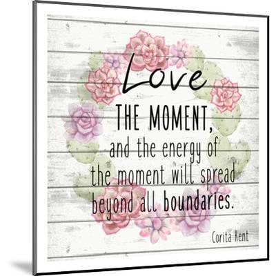 Love the Moment 2-Kimberly Allen-Mounted Art Print