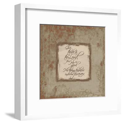 Psalm 1181 Fall-Jace Grey-Framed Art Print