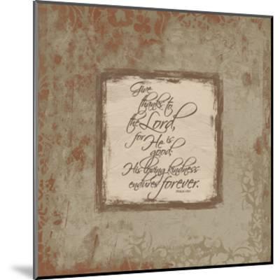 Psalm 1181 Fall-Jace Grey-Mounted Art Print