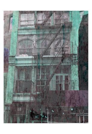TRIBECA-Sheldon Lewis-Framed Art Print
