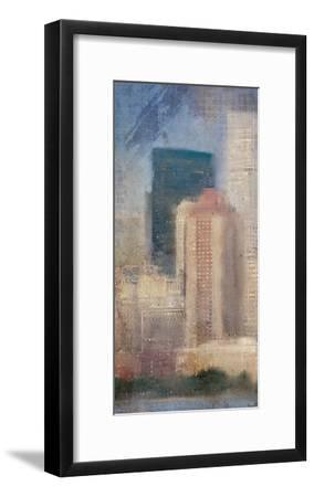 City Life A-Kimberly Allen-Framed Art Print