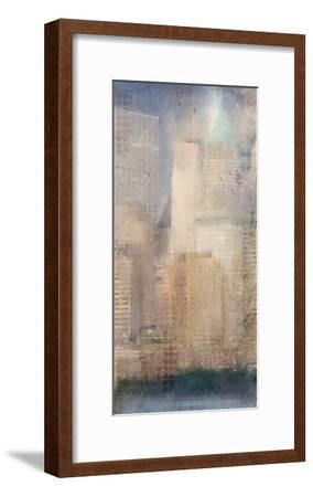 City Life B-Kimberly Allen-Framed Art Print