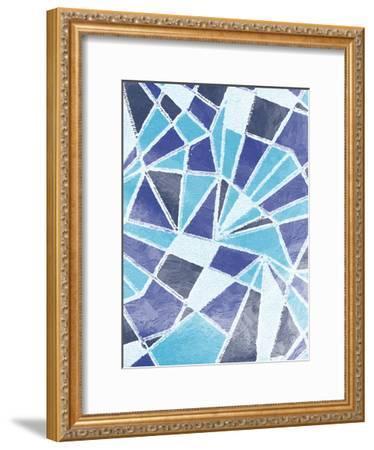 Pure Contemporary 1-Sheldon Lewis-Framed Art Print