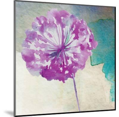 Purple Poof-Boho Hue Studio-Mounted Art Print