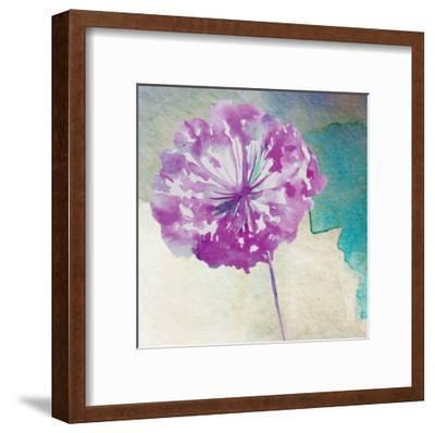 Purple Poof-Boho Hue Studio-Framed Art Print