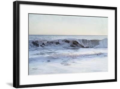 Coastal Evening III-Elizabeth Urquhart-Framed Art Print
