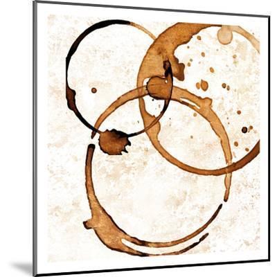 Copper Circles 2-Kimberly Allen-Mounted Art Print