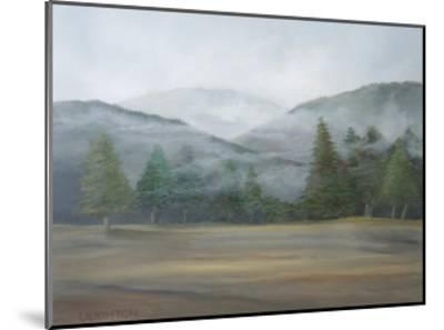 Misty Mountains-Peter Laughton-Mounted Art Print