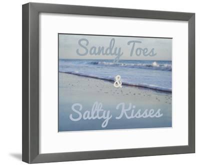 Sandy Toes 2-Elizabeth Urquhart-Framed Art Print