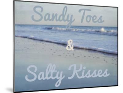 Sandy Toes 2-Elizabeth Urquhart-Mounted Art Print