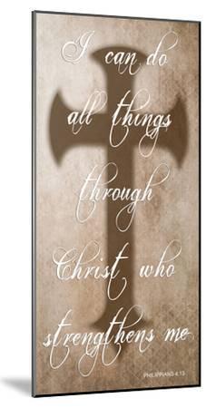 All Things Through Christ-Sheldon Lewis-Mounted Art Print
