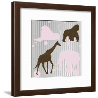 All Together 1-Sheldon Lewis-Framed Art Print