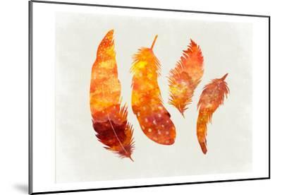 Feathery Abstract-Sheldon Lewis-Mounted Art Print