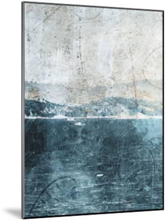 Sea Life-Jace Grey-Mounted Art Print