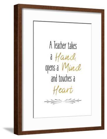 Teachers 1-Kimberly Allen-Framed Art Print