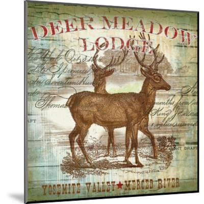 Dear Meadow-Ophelia & Co^-Mounted Art Print