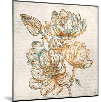 Floral Notes 1-Kimberly Allen-Mounted Art Print