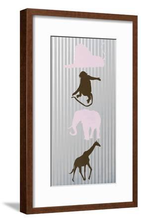 Line Dance 2-Sheldon Lewis-Framed Art Print