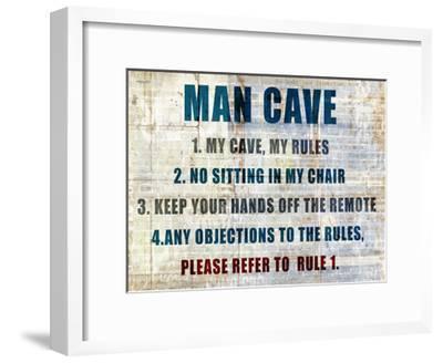 My Rules-Kimberly Allen-Framed Art Print