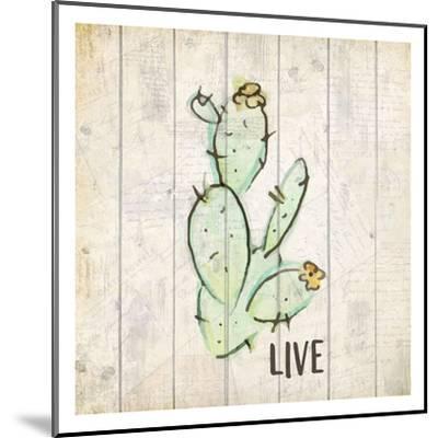 Watercolor Cactus Live-Kimberly Allen-Mounted Art Print