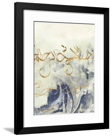Arabic Encaustic II-Jennifer Goldberger-Framed Art Print