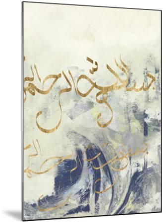 Arabic Encaustic II-Jennifer Goldberger-Mounted Art Print