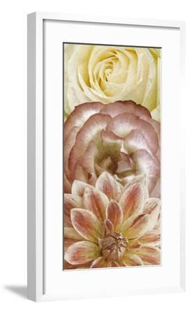 Beautiful Triad I-Alonzo Saunders-Framed Art Print