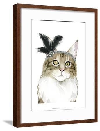 Downton Cat IV-Grace Popp-Framed Art Print