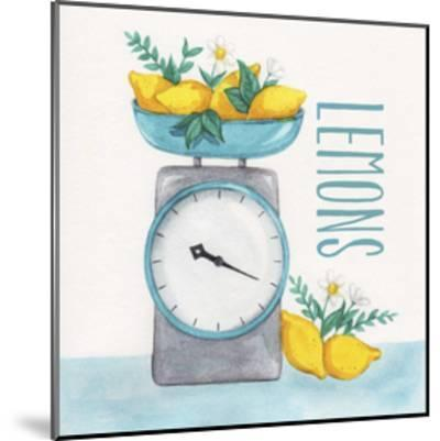 Lemon Scale II-Gabrielle McClure-Mounted Art Print