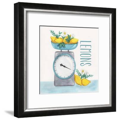 Lemon Scale II-Gabrielle McClure-Framed Art Print